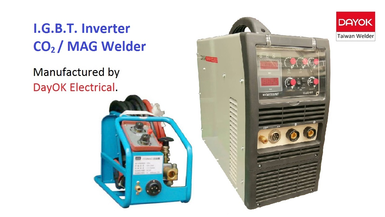 I.G.B.T. Inverter CO2 / MAG Welder